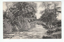 The River Prosen At Spott Bridge Cortachy Angus Pre 1911 Valentines Old Postcard