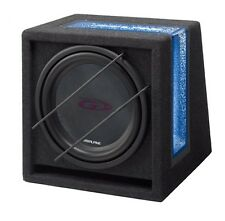 "Alpine SBG-1244BR 12"" Type-G Subwoofer with Custom Alpine Bass Box 800w"