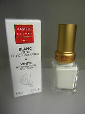 MASTERS COLORS BLANC VERNIS FRENCH MANUCURE WHITE FRENCH MANICURE NAIL tenue +++