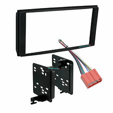 MAZDA MPV CAR STEREO DOUBLE/2/D-DIN RADIO INSTALL DASH KIT W/ WIRES 95-7502B