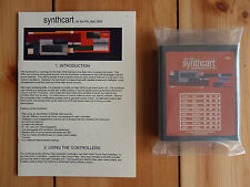 Atari 2600 Synthcart PAL Keyboard Controllers Synth Cartridge Video Game Music