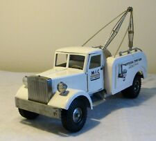 Early Smith-Miller M.I.C Mack Cab OFFICIAL TOW CAR Tow Truck 50s V RARE NMINT