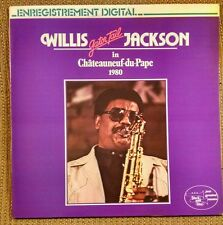 "Willis ""Gator Tail"" Jackson in Chateauneuf du Pape 1980 LP French~Black and Blue"