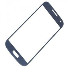 VETRO VETRINO SAMSUNG GALAXY S4 MINI GT i9195 i9190i NO DISPLAY TOUCHSCREEN BLUE