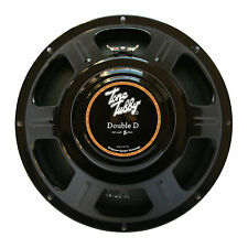 "Tone Tubby 12"" Black Alnico DD Hemp Cone Guitar Speaker 8/16 ohm NEW + Warranty"
