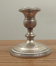 """Vintage sterling silver candle stick holder Fisher 809 4.5"""" weighted 415 g"""