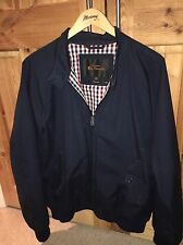 ben sherman harrington jacket navy blue XXL