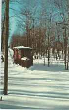 CT - Electric Railway Trolley Museum, Snow Plow Car #12 Postcard