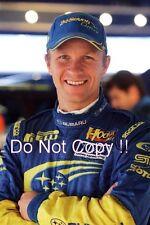 Petter Solberg SUBARU WRC Ritratto Fotografia 2