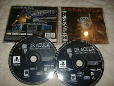 Dracula the Resurrection Playstation 1 PS1 video game ps psx COMPLETE