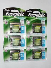 24 Energizer AAA 800 mAh NiMH rechargeable batteries