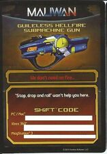 Borderlands 2 Guileless Hellfire Gun Shift Codes DLC PC/MAC