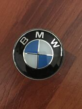 45mm Aluminum Steering Wheel Center Emblem Badge Decal Symbol Sticker For BMW