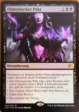 FOIL  Dämonischer Pakt / Demonic Pact  - ORIGINS -  deutsch  (near-mint +)