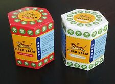 2 x 30g TIGER BALM 1 RED/1 WHITE OINTMENT - ARTHRITIS JOINT PAIN SHIPPED FROM US