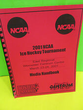 NCAA- 2001 EAST REGIONAL ICE HOCKEY TOURNAMENT IN WORCESTER MEDIA HANDBOOK