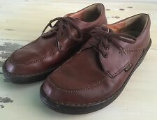 MEPHISTO - Mens Vtg Brown Leather Walking Shoes, Mobils Air Relax, Sz 8.5