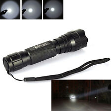 UltraFire WF-501B 2000LM Cree XM-L T6 LED 18650 Tactical Flashlight Torch Lamps