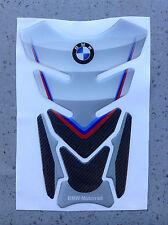 TANK PAD Paraserbatoio RESINATO 3D PER MOTO BMW METAL STYLE CARBON M GP-058