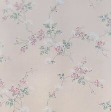 Trailing Pink Dogwood Blossoms Wallpaper Double Roll Bolts FREE SHIPPING