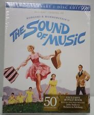 The Sound Of Music 50th Anniversary Edition Blu-Ray w/ Exclusive 40-pg Book NEW