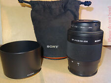 SONY SAL55200 DT 55-200mm f4-5.6 with KENKO UV Filter