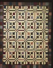 """~ NEW TRADITIONAL QUILT PATTERN ~ ROTARY CUT ~ MACHINE PIECED ~ 86""""X101"""" ~"""