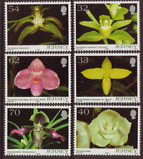 JERSEY 2004 ORCHIDS 5th SERIES UNMOUNTED MINT, MNH
