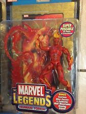 Marvel Legends Series 2 HUMAN TORCH GOLD FOIL X-men Classics Infinite MOC