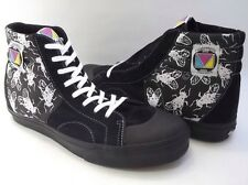 VANS LX MADRID MAD FLY TRAINERS UK 8 EUR 42 US 9 MENS BLACK SK8-HI VAULT WTAPS