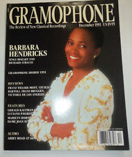 Gramophone Magazine Barbara Hendricks & Richard Strauss December 1991 032515R2
