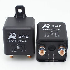 2PCS - Heavy Duty 12VDC relay 300A Automotive Car boat storage battery Switch