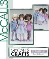 McCall's 4743 OOP Betsy McCall Doll Clothes Pattern
