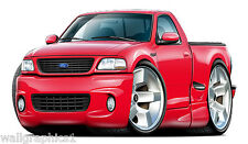 Ford Lightning SVT Truck Wall Graphics Decals Stickers Removable Vinyl Car Art