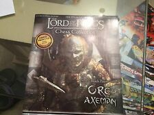 Lord of the rings chess collection magazine 16 - black pawn - Orc Axeman