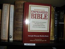 """""""ROTHERHAM"""" Emphasized Bible Watchtower Research Jehovah Yahweh Presence IBSA"""