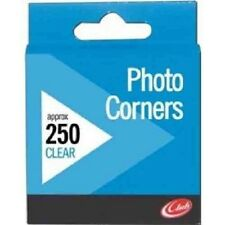 CLEAR SELF ADHESIVE PHOTO CORNERS (250 PER BOX APPROX.)