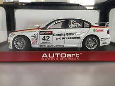 1:18 AUTOart BMW 320Si WTCC '06 GERMANY #42 80647