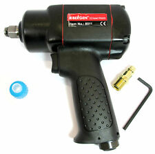 "1/2"" Mini Air Impact Wrench / Gun 15-380Nm  280 ft/lbs By Bergen 8511"