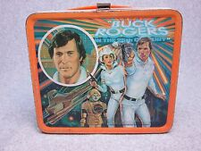 1979 BUCK ROGERS In The 25th CENTURY Tv LUNCHBOX Science Fiction Robot,Gun C#7.5