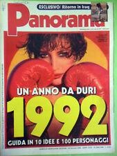 PANORAMA N°1342/1343 DEL 12/01/1992
