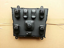 1 NEW MERCEDES W163 ML 1998-2001 POWER WINDOW SWITCH CONSOLE A1638206610