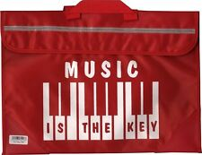 Piano Keyboard Music School Bag Case Holdall RED Musician Gift