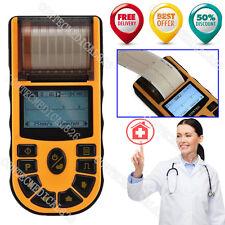 US Fedex FDA Portable ECG EKG Machine Single Channel Electrocardiograph 12 Leads