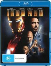 Iron Man (Blu-ray, 2008) Regions A,B,C (Robert Downey Jr)