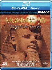 Blu Ray MUMMIE - I SEGRETI DEI FARAONI **(3D) (Blu Ray 3D + Blu Ray) **...NUOVO