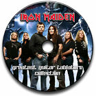 135 IRON MAIDEN ROCK METAL GUITAR TABS TABLATURE SONG BOOK LIBRARY SOFTWARE CD