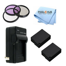 62MM 7PC Accessory Kit for Panasonic Lumix DMC-FZ1000 4K QFHD/HD Digital New