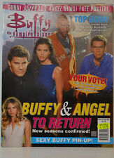 BUFFY VAMPIRE SLAYER ZEITSCHRIFT MAGAZIN 23 JULY 2001 BUFFY ANGEL RETURN (ZB 31)