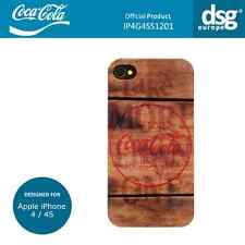 Coca-Cola Genuine Wood Design Case Cover Shell for Apple iPhone 4 / 4S